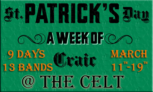 St. Patrick's Day 2017 @ The Celt
