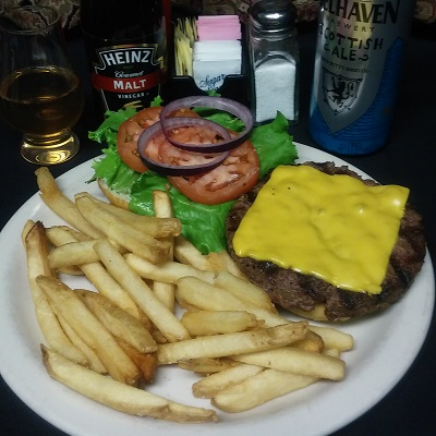 The Fighting Irish Burger