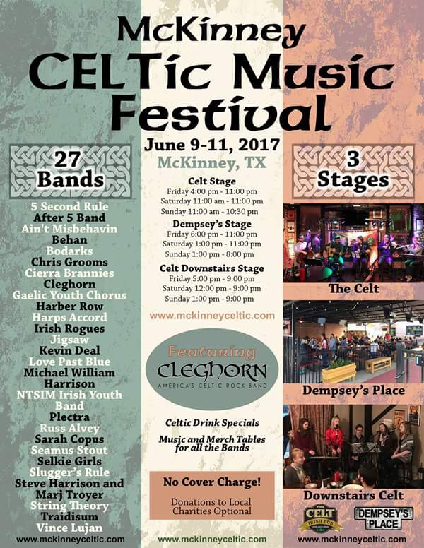 McKinney Celtic Music Festival
